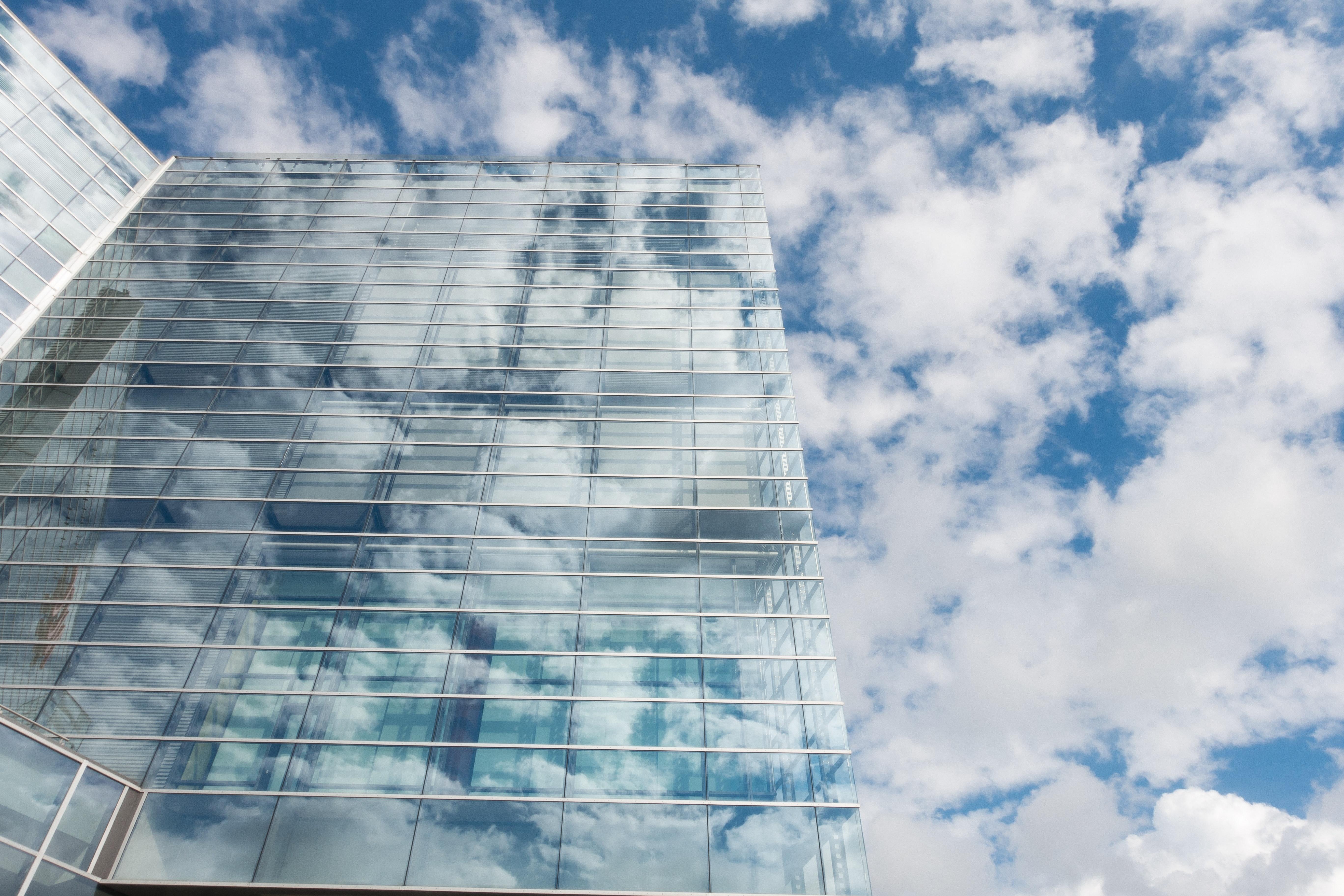 architecture-blue-building-164444